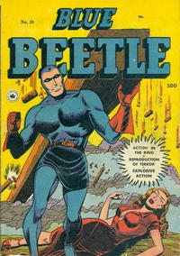 Cover Thumbnail for Blue Beetle (Superior Publishers Limited, 1950 series) #59