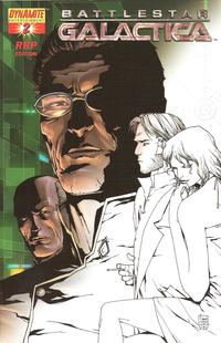 Cover Thumbnail for Battlestar Galactica (Dynamite Entertainment, 2006 series) #2 [RRP Edition]