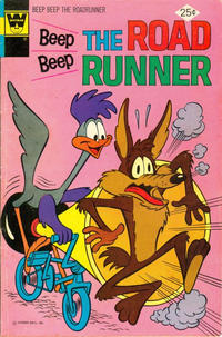 Cover Thumbnail for Beep Beep the Road Runner (Western, 1966 series) #55 [Whitman variant]