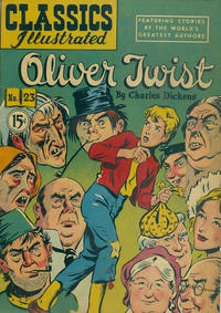 Cover Thumbnail for Classics Illustrated (Gilberton, 1948 series) #23