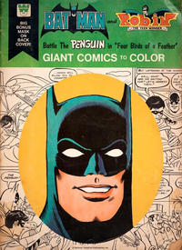 """Cover Thumbnail for Batman and Robin the Teen Wonder Battle the Penguin in """"Four Birds of a Feather"""" [Giant Comics to Color] (Western, 1976 series)"""