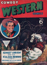 Cover Thumbnail for Cowboy Western Comics (L. Miller & Son, 1956 series) #19