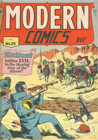 Cover Thumbnail for Modern Comics (Alval Publishers, 1949 series) #85