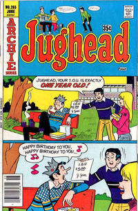 Cover Thumbnail for Jughead (Archie, 1965 series) #265