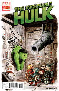 Cover Thumbnail for The Incredible Hulk (Marvel, 2011 series) #7 [Avengers Art Appreciation Variant Cover by Charles Paul Wilson III]