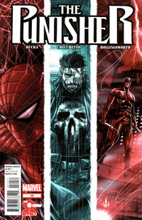 Cover Thumbnail for The Punisher (Marvel, 2011 series) #10 [Direct Edition - Marco Checchetto Cover]