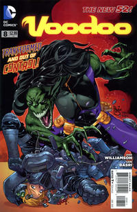 Cover Thumbnail for Voodoo (DC, 2011 series) #8