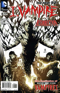 Cover Thumbnail for I, Vampire (DC, 2011 series) #8
