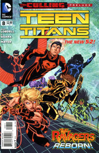 Cover Thumbnail for Teen Titans (DC, 2011 series) #8
