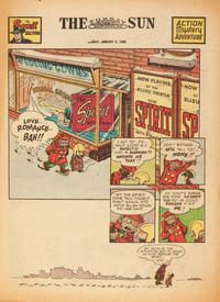 Cover Thumbnail for The Spirit (Register and Tribune Syndicate, 1940 series) #1/9/1949