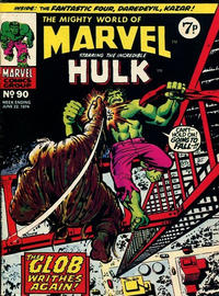 Cover Thumbnail for The Mighty World of Marvel (Marvel UK, 1972 series) #90