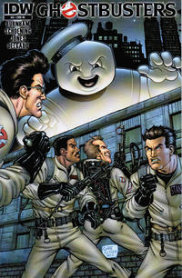 Cover Thumbnail for Ghostbusters (IDW, 2011 series) #8 [Cover RI - Gabe Eltaeb]