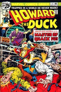 Cover Thumbnail for Howard the Duck (Marvel, 1976 series) #3 [25¢ Cover Price]