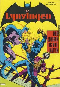 Cover Thumbnail for Lynvingen (Illustrerte Klassikere / Williams Forlag, 1969 series) #4/1976