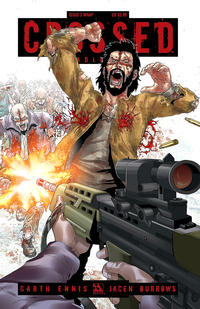 Cover Thumbnail for Crossed Badlands (Avatar Press, 2012 series) #3 [Wraparound Cover - Jacen Burrows]