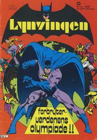 Cover Thumbnail for Lynvingen (Illustrerte Klassikere / Williams Forlag, 1969 series) #11/1976