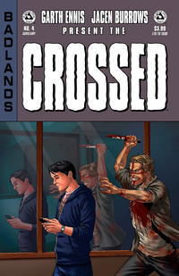Cover Thumbnail for Crossed Badlands (Avatar Press, 2012 series) #4 [Auxiliary Cover - Jacen Burrows]