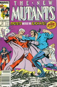Cover for The New Mutants (Marvel, 1983 series) #75 [Direct Edition]