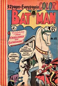 Cover Thumbnail for Batman (K. G. Murray, 1950 series) #85