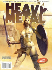 Cover Thumbnail for Heavy Metal Magazine (Heavy Metal, 1977 series) #v34#8 - Fright Special!