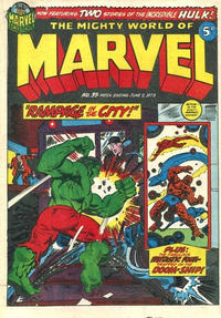 Cover Thumbnail for The Mighty World of Marvel (Marvel UK, 1972 series) #35