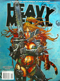Cover Thumbnail for Heavy Metal Magazine (Metal Mammoth, Inc., 1992 series) #v35#5