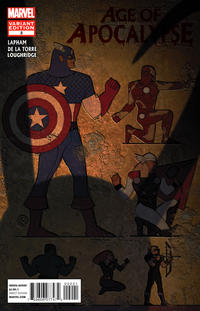 Cover Thumbnail for Age of Apocalypse (Marvel, 2012 series) #2 [Avengers Art Appreciation Variant Cover by Christian Nauck]