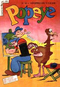 Cover for Popeye (Editora Brasil-América [EBAL], 1953 series) #46