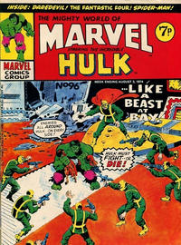 Cover Thumbnail for The Mighty World of Marvel (Marvel UK, 1972 series) #96
