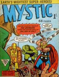 Cover Thumbnail for Mystic (L. Miller & Son, 1960 series) #54