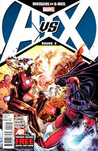 Cover Thumbnail for Avengers vs. X-Men (Marvel, 2012 series) #2