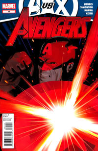 Cover for Avengers (Marvel, 2010 series) #25