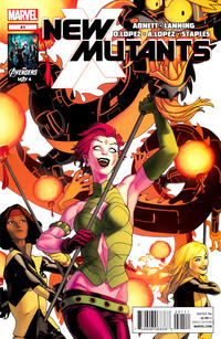 Cover Thumbnail for New Mutants (Marvel, 2009 series) #41
