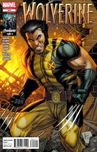 Cover Thumbnail for Wolverine (Marvel, 2010 series) #304