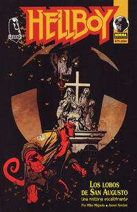 Cover Thumbnail for Hellboy: Los Lobos de San Augusto (NORMA Editorial, 1996 series)
