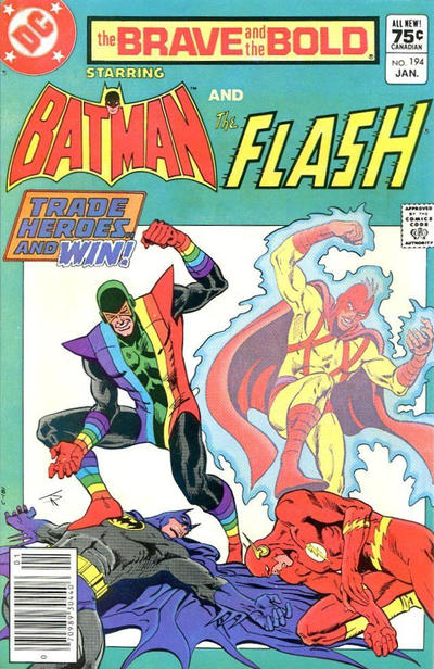 Cover for The Brave and the Bold (DC, 1955 series) #194 [Newsstand]