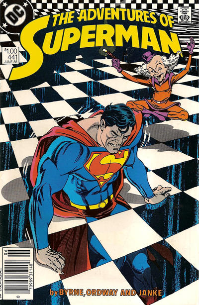Cover for Adventures of Superman (DC, 1987 series) #441 [Direct Sales Variant]