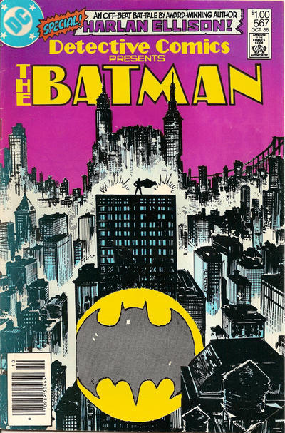 Cover for Detective Comics (DC, 1937 series) #567 [Direct Sales]