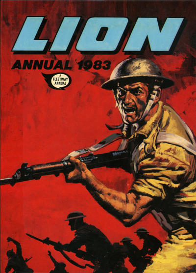 Cover for Lion Annual (Fleetway Publications, 1954 series) #1983