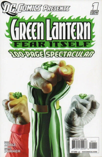 Cover for DC Comics Presents: Green Lantern - Fear Itself (DC, 2011 series) #1