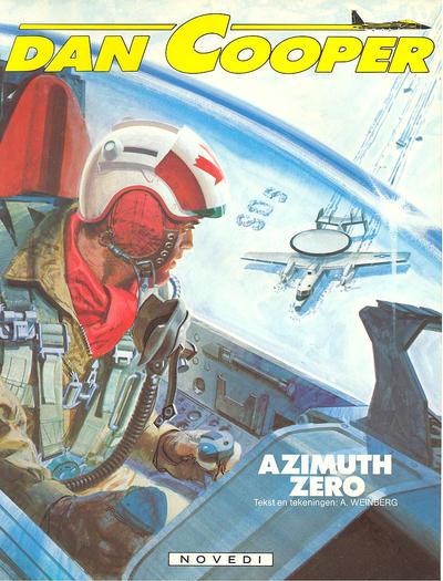 Cover for Dan Cooper (Novedi, 1981 series) #24 - Azimuth zero