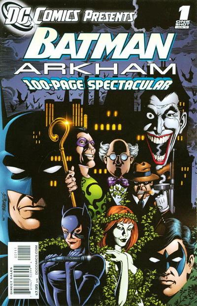 Cover for DC Comics Presents: Batman: Arkham (DC, 2011 series) #1