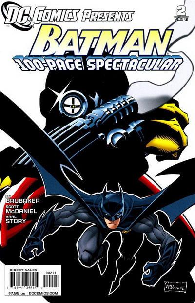 Cover for DC Comics Presents: Batman (DC, 2010 series) #2