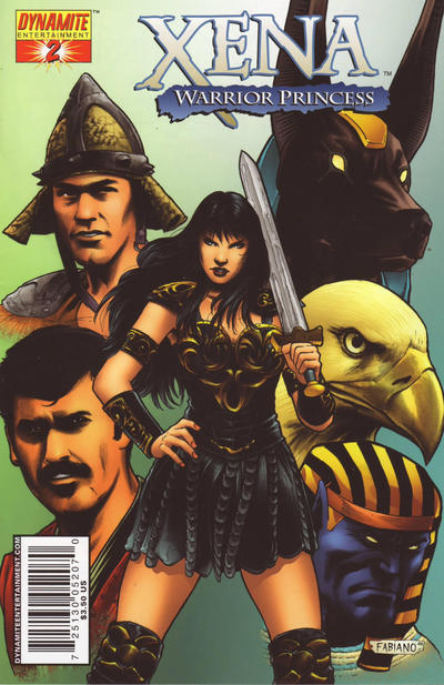 Cover for Xena (Dynamite Entertainment, 2006 series) #2 [Adriano Batista Cover]