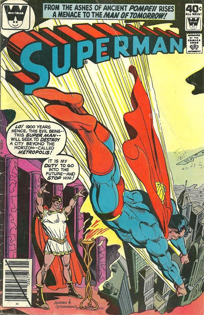 Cover for Superman (DC, 1939 series) #343
