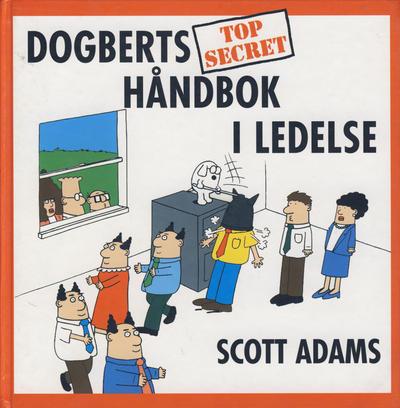 Cover for Dogberts håndbok i ledelse (Bladkompaniet, 2000 series)