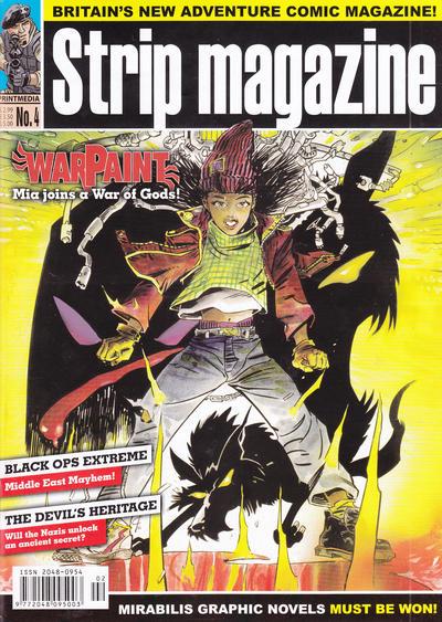 Cover for Strip Magazine (Print Media, 2011 series) #4