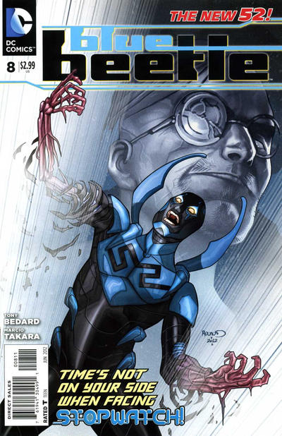 Cover for Blue Beetle (DC, 2011 series) #8