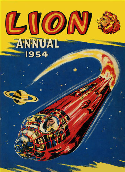 Cover for Lion Annual (Fleetway Publications, 1954 series) #1954