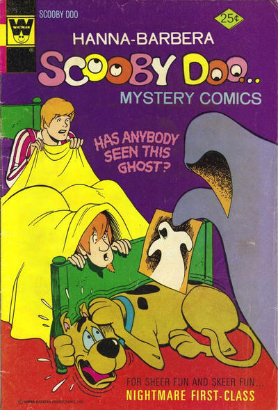 Cover for Hanna-Barbera Scooby-Doo...Mystery Comics (Western, 1973 series) #27 [Whitman]